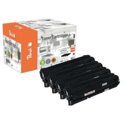 Peach  Spar Pack Tonermodule kompatibel zu Hersteller-ID: CLT-506L