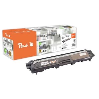 Peach  Tonermodul schwarz kompatibel zu Hersteller-ID: TN-241BK