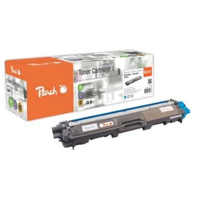Peach  Tonermodul cyan, kompatibel zu Hersteller-ID: TN-241C