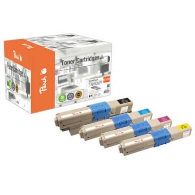 Peach  Spar Pack Tonermodule kompatibel zu Hersteller-ID: 44469704-9803
